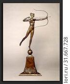 Купить «Augustus Saint-Gaudens, Diana of the Tower, American, 1848 - 1907, conceived 1892-1893, cast 1899, bronze», фото № 31667728, снято 6 августа 2013 г. (c) age Fotostock / Фотобанк Лори