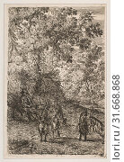 Купить «Four Goats (Left Section of The Goats), ca. 1630–33, Etching, second state of four (Mannocci), sheet: 8 x 5 5/16 in. (20.3 x 13.5 cm), Prints, Claude...», фото № 31668868, снято 26 апреля 2017 г. (c) age Fotostock / Фотобанк Лори