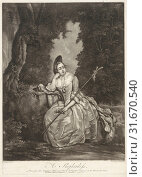 Shepherdess, Andreas van der Myn, John Boydell, 1752 (2014 год). Редакционное фото, фотограф Artokoloro / age Fotostock / Фотобанк Лори