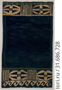 Sabatos Rug, ca. 1901, Made in Center Lovell, Maine, United States, Wool on burlap backing, 57 1/2 x 33 3/4 in. (146.1 x 85.7 cm), Textiles, Marion Larrabee Volk (1859–1925) (2017 год). Редакционное фото, фотограф © Copyright Artokoloro Quint Lox Limited / age Fotostock / Фотобанк Лори