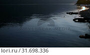 Купить «River and mountains at countryside 4k», видеоролик № 31698336, снято 30 июля 2018 г. (c) Wavebreak Media / Фотобанк Лори