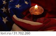 Купить «Burning Candle Video», видеоролик № 31702260, снято 20 ноября 2018 г. (c) Wavebreak Media / Фотобанк Лори