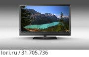 Купить «HD flat screen Television», видеоролик № 31705736, снято 25 апреля 2019 г. (c) Wavebreak Media / Фотобанк Лори