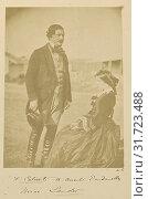 F. Calvert, B. Consul, Dardanelles. Miss Lander, Dr. William Robertson (Scottish, 1818 - 1882), Turkey, 1855 - 1856, Albumen silver print (2018 год). Редакционное фото, фотограф © Liszt Collection / age Fotostock / Фотобанк Лори