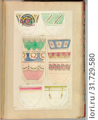 Купить «Ten Designs for Decorated Cups, 1845–55, Pen and ink, and watercolor, sheet: 16 3/4 x 11 7/16 in. (42.5 x 29 cm), Alfred Henry Forrester [Alfred Crowquill] (British, London 1804–1872 London)», фото № 31729580, снято 26 апреля 2017 г. (c) age Fotostock / Фотобанк Лори