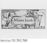 Master Jacob, illustration for Harper's Young People (1886) and The Wonder Clock by Howard Pyle (1888), 1886–88, Pen and black ink, sheet: 3 9/16 x 7... (2017 год). Редакционное фото, фотограф © Copyright Artokoloro Quint Lox Limited / age Fotostock / Фотобанк Лори