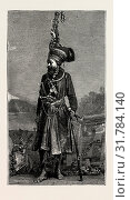 Купить «BAUPARA NAGAS, FROM THE EASTERN FRONTIER OF INDIA, ENGRAVING 1884», фото № 31784140, снято 11 апреля 2012 г. (c) age Fotostock / Фотобанк Лори