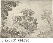 Купить «Return of the hunter, Cornelis Matthieu, 1637 - 1656», фото № 31784720, снято 18 ноября 2019 г. (c) age Fotostock / Фотобанк Лори