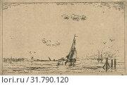Купить «River view with sailing ship, Jan Daniël Cornelis Carel Willem baron de Constant Rebecque, 1856 - 1893», фото № 31790120, снято 8 августа 2016 г. (c) age Fotostock / Фотобанк Лори