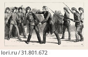 Купить «GORDON IN CHINA, MAY, 1863, MUTINY OF NON-COMMISSIONED OFFICERS: 'Gordon approached the mutinous corporal, dragged him out of the rank with his own hand...», фото № 31801672, снято 3 января 2013 г. (c) age Fotostock / Фотобанк Лори