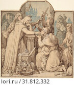 Купить «Kriemhild, in Mourning over Siegfried, Handing Out Treasures from the Nibelungen Hoard, 1854, Pen and brown ink over pencil with brown and gray wash, sheet...», фото № 31812332, снято 22 апреля 2017 г. (c) age Fotostock / Фотобанк Лори