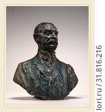 Auguste Rodin, Thomas Fortune Ryan, French, 1840-1917, 1909-1910, bronze (2014 год). Редакционное фото, фотограф Artokoloro / age Fotostock / Фотобанк Лори