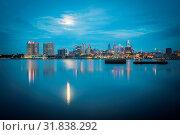 Купить «Early morning sunrise over city of philadelphia PA.», фото № 31838292, снято 10 апреля 2020 г. (c) age Fotostock / Фотобанк Лори