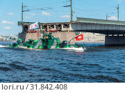 Купить «Артиллерийский катер проекта 1204.  Проектный шифр — «Шмель».», эксклюзивное фото № 31842408, снято 25 июля 2019 г. (c) Александр Щепин / Фотобанк Лори
