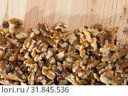 Купить «Dried kernels of walnuts», фото № 31845536, снято 20 января 2020 г. (c) Яков Филимонов / Фотобанк Лори