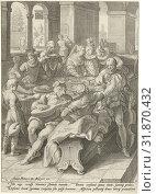 Купить «The prodigal son squanders his money on prostitutes, Jacob Matham, Franco Estius, Joost Pieters de Reyger, 1592», фото № 31870432, снято 23 ноября 2014 г. (c) age Fotostock / Фотобанк Лори