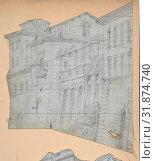 Купить «Design for a Stage Set at the Opéra, Paris, 1830–90, Graphite, Irregular sheet: 7 3/8 x 6 1/4 in. (18.7 x 15.9 cm), Drawings, Eugène Cicéri (French, Paris 1813–1890 Fontainebleau)», фото № 31874740, снято 21 мая 2017 г. (c) age Fotostock / Фотобанк Лори