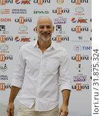 The actor Filippo Nigro at the Giffoni Film Festival 2019, Salerno, ITALY-27-07-2019. Редакционное фото, фотограф Fabio Sasso / AGF/Fabio Sasso / AGF / age Fotostock / Фотобанк Лори