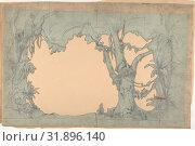 Купить «Design for a Stage Set at the Opéra, Paris, 1830–90, Graphite, Irregular sheet: 10 13/16 x 17 3/16 in. (27.5 x 43.7 cm), Drawings, Eugène Cicéri (French, Paris 1813–1890 Fontainebleau)», фото № 31896140, снято 21 мая 2017 г. (c) age Fotostock / Фотобанк Лори