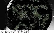 Купить «Falling paper bills», видеоролик № 31916020, снято 13 февраля 2019 г. (c) Wavebreak Media / Фотобанк Лори