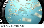 Купить «Dollar bills», видеоролик № 31918708, снято 13 февраля 2019 г. (c) Wavebreak Media / Фотобанк Лори