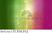 Купить «Animation of colorful light effects line surounded by light bubbles», видеоролик № 31918912, снято 5 марта 2019 г. (c) Wavebreak Media / Фотобанк Лори