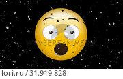 Купить «Surprised face with open mouth emoji», видеоролик № 31919828, снято 5 марта 2019 г. (c) Wavebreak Media / Фотобанк Лори