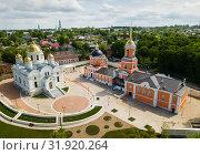 Kashirsky Nikitsky Monastery (2019 год). Стоковое фото, фотограф Яков Филимонов / Фотобанк Лори
