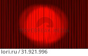 Купить «Animation of theatre curtains opening with spotlight », видеоролик № 31921996, снято 5 марта 2019 г. (c) Wavebreak Media / Фотобанк Лори