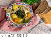 Ready meals. The fish soup. Стоковое фото, фотограф Татьяна Ляпи / Фотобанк Лори