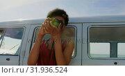 Купить «Woman taking photos with digital camera 4k», видеоролик № 31936524, снято 9 января 2019 г. (c) Wavebreak Media / Фотобанк Лори