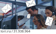 Купить «Manager talking to a call centre agent 4k», видеоролик № 31938964, снято 17 апреля 2019 г. (c) Wavebreak Media / Фотобанк Лори