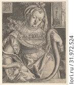 Купить «Intemperance, from Vice and Virtues, 1528, Engraving, Sheet: 3 1/4 × 2 1/2 in. (8.2 × 6.4 cm), Prints, Heinrich Aldegrever (German, Paderborn ca. 1502–1555/1561 Soest)», фото № 31972524, снято 27 апреля 2017 г. (c) age Fotostock / Фотобанк Лори