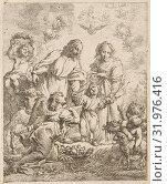 Купить «Holy Family, Cornelis Schut (I), 1618 - 1655», фото № 31976416, снято 20 декабря 2014 г. (c) age Fotostock / Фотобанк Лори