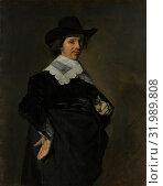Paulus Verschuur (1606–1667), 1643, Oil on canvas, 46 3/4 x 37 in. (118.7 x 94 cm), Paintings, Frans Hals (Dutch, Antwerp 1582/83–1666 Haarlem), Paulus... (2017 год). Редакционное фото, фотограф © Copyright Artokoloro Quint Lox Limited / age Fotostock / Фотобанк Лори