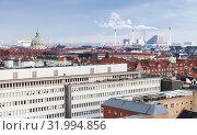 Купить «Copenhagen, Denmark. Modern cityscape», фото № 31994856, снято 10 декабря 2017 г. (c) EugeneSergeev / Фотобанк Лори
