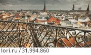 Купить «Copenhagen, Denmark. Retro cityscape», фото № 31994860, снято 10 декабря 2017 г. (c) EugeneSergeev / Фотобанк Лори