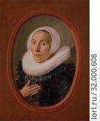 Anna van der Aar (born 1576/77, died after 1626), 1626, Oil on wood, 8 3/4 x 6 1/2 in. (22.2 x 16.5 cm), Paintings, Frans Hals (Dutch, Antwerp 1582/83â€... (2017 год). Редакционное фото, фотограф © Copyright Artokoloro Quint Lox Limited / age Fotostock / Фотобанк Лори