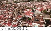 Купить «Picturesque top view of city Evora. Portugal», видеоролик № 32003212, снято 20 апреля 2019 г. (c) Яков Филимонов / Фотобанк Лори