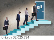 Купить «Recruitment concept with business people», фото № 32025784, снято 17 августа 2019 г. (c) Elnur / Фотобанк Лори