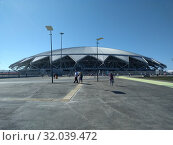 """Стадион""""Самара Арена"""" (2018 год). Редакционное фото, фотограф Кургузкин Константин Владимирович / Фотобанк Лори"""