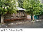 Купить «Рязань, улица Кудрявцева, дом 15», эксклюзивное фото № 32040696, снято 10 августа 2019 г. (c) Dmitry29 / Фотобанк Лори