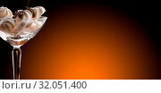Купить «Refined meringue and chocolate cup», фото № 32051400, снято 14 июля 2020 г. (c) easy Fotostock / Фотобанк Лори