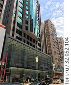 Купить «Apple store in Canton Road, Hong Kong, China», фото № 32052104, снято 15 сентября 2017 г. (c) Александр Подшивалов / Фотобанк Лори