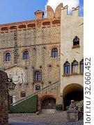 Festung, Schloss, Castello Cini Monselice. Стоковое фото, фотограф Bernd J. W. Fiedler / age Fotostock / Фотобанк Лори