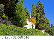 Santuario Giubilare delle Sette Chiese, vierte, fünfte und sechste Kapelle. Стоковое фото, фотограф Bernd J. W. Fiedler / age Fotostock / Фотобанк Лори