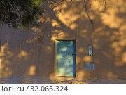 Nesrat, village of Sahara desert, Draa River valley, Province of Zagora, Region Draa-Tafilalet, Morocco, North West Africa. Стоковое фото, фотограф Christian Goupi / age Fotostock / Фотобанк Лори