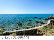 Natural Site Cliffs of Maro Cerro-Gordo, Nerja, Málaga, Andalusia, Spain, Europe. Стоковое фото, фотограф José Luis Hidalgo Salguero / easy Fotostock / Фотобанк Лори