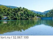 Guadalmina Dam in Benahavís, Málaga, Andalusia, Spain, Europe. Стоковое фото, фотограф José Luis Hidalgo Salguero / easy Fotostock / Фотобанк Лори