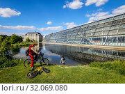 Science Park Gelsenkirchen, Ruhr Area, North Rhine-Westphalia, Germany (2019 год). Редакционное фото, агентство Caro Photoagency / Фотобанк Лори